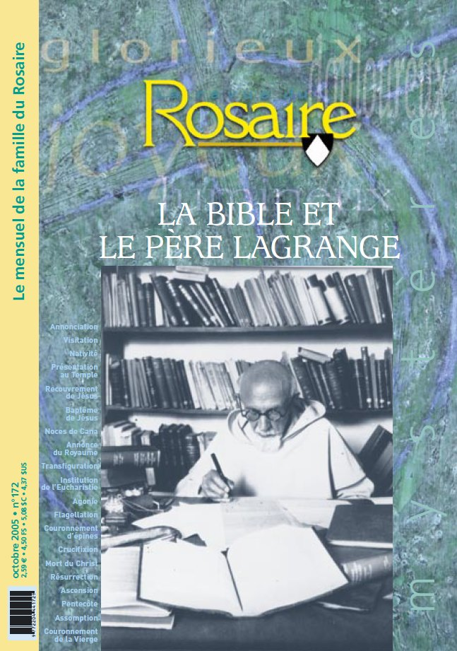 La Bible et le Père Lagrange