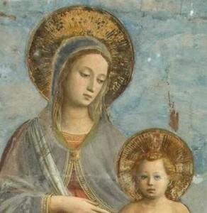marie-et-lenfant-fra-angelico-detail