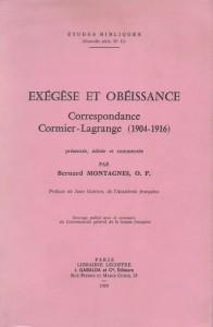 Exégèse et obéissance