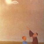 Afin que de génération en génération on sache. Psaume 78.6. Peinture de Benn.