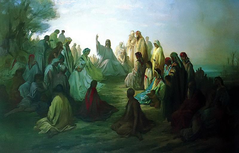 Les Béatitudes. Gustave Doré (1860).