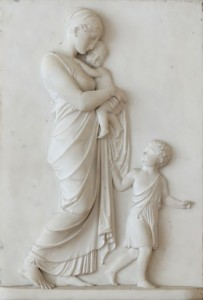 Charité-Christian_charity_Thorvaldsen_Louvre_RF3968