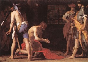St John the Baptist STANZIONE-Massimo-Beheading
