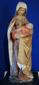 La Vierge d'Autun, chère au coeur du P. Lagrange.