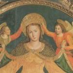 Vierge du Rosaire. François Brea. 1555 (détail).