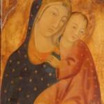 La Vierge et l'Enfant. Monastère de Cimiez. Nice
