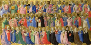 Fra Angelico. Tous saints.
