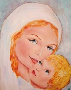 Vierge et l'Enfant par Louis de Beaumont