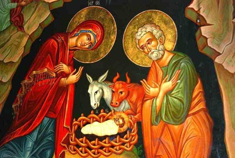 icone naissance de jésus