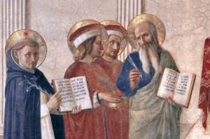 Sacra conversazione-Angelico