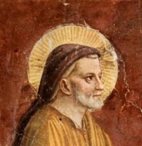 Saint Joseph par Fra Angelico(détail)