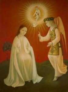 Annunciation. Brady Barth