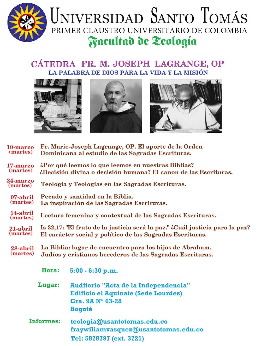 Catedra MJ Lagrange