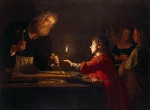 Enfance du Christ-Gerrit_van_Honthorst_-_Childhood_of_Christ_-_WGA11656