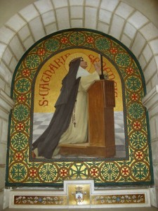 Sainte Catherine de Sienne. Jérusalem