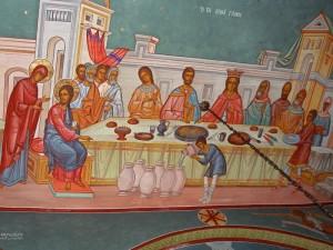 Noces de Cana-Melkite Church of Annunciation (Jerusalem)
