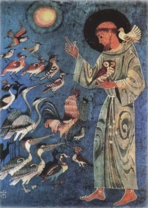 St François et le cantique des créatures