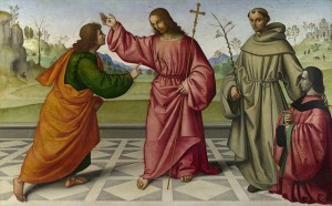 Saint Thomas apôtre-Giovanni_Battista_da_Faenza_-_The_Incredulity_of_Saint_Thomas