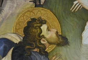 Joan Baptista, (detalle) retable de fra Bonifaci Ferrer, Museu de Belles Arts de València, Espanya