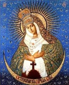 Vergine. Icona romana