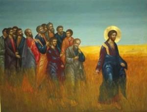 Champ de blé, Jésus