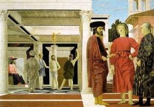 Flagellation-Piero delle Francesca