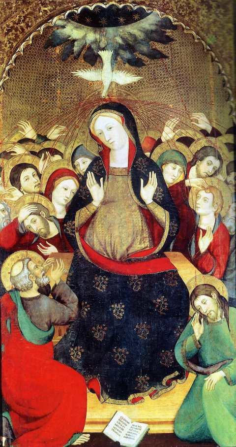 Pentecôte (détail)-