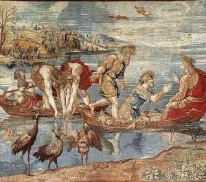 Pêche miraculeuse-Arazzi di raffaello(1519)