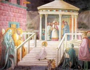 Présentation de Marie au Temple-Prato Duomo