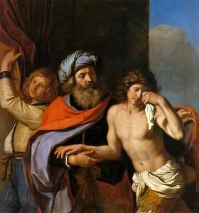Le fils prodigue. Guercino (1654-1655)