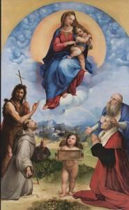 Madone de Foligno Raffaello Sanzio (1483-1520)