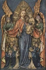 La Vierge Patronne de l'Ordre Dominicain. Basilique Ste Sabine. Rome