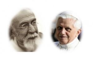 P. Lagrange et Benoît XVI