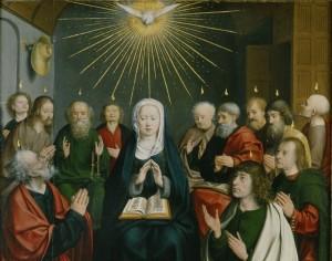 Pentecôte Jan Joest van Kalkar (1450-1519)