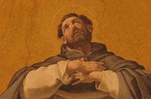 La Gloire de Saint Dominique (détail) Guido Reni 1575-1642)