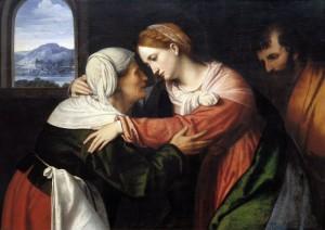 Visitazione Moretto da Brescia (c. 1498-1554)