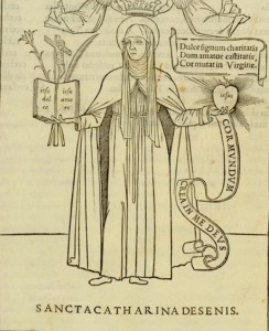 Santa Caterina da Siena Aldo Manuzio (1500)