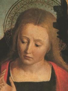 Ste Marie Madeleine (détail) Louis Brea, 16e