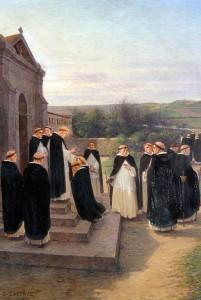 Saint Dominique envoyant les frères à travers le monde. (coll. Assoc. Véritas)
