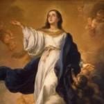 Assomption de la Vierge Marie B. E. Murillo, 1670 (détail).
