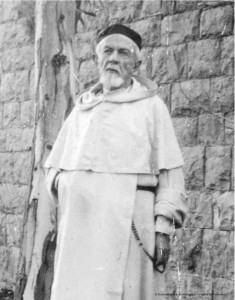 P. Lagrange priant son rosaire (détail)