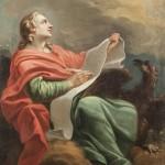 Saint Jean l'Évangéliste. Attribué à Jean-Baptiste Marie Pierre (1714-1789)