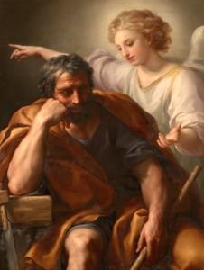 Le rêve de saint Joseph Anton Raphael Mengs (18e)