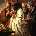 Les quatre évangélistes Jacob Joardens (17e) - Louvre