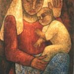 Vierge et l'enfant-Bajen