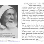 P. Lagrange-Prière