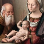 Presentazione di Gesù (dettaglio). Marco Palmezzano (16e)