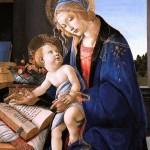 Vierge et l'Enfant-Sandro_Botticelli (15e)