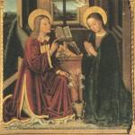 Annonciation du Seigneur. Brea (1499). Lieuche (Alpes-Maritimes)