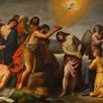 Battesimo di Gesù Alessandro Turchi (17e)